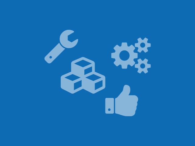 Service-Reparatur Icons